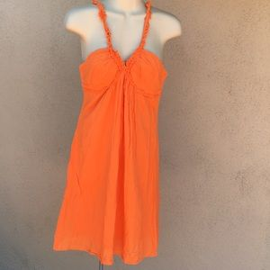 Trina Turk | Orange Sleeveless Cute Dress